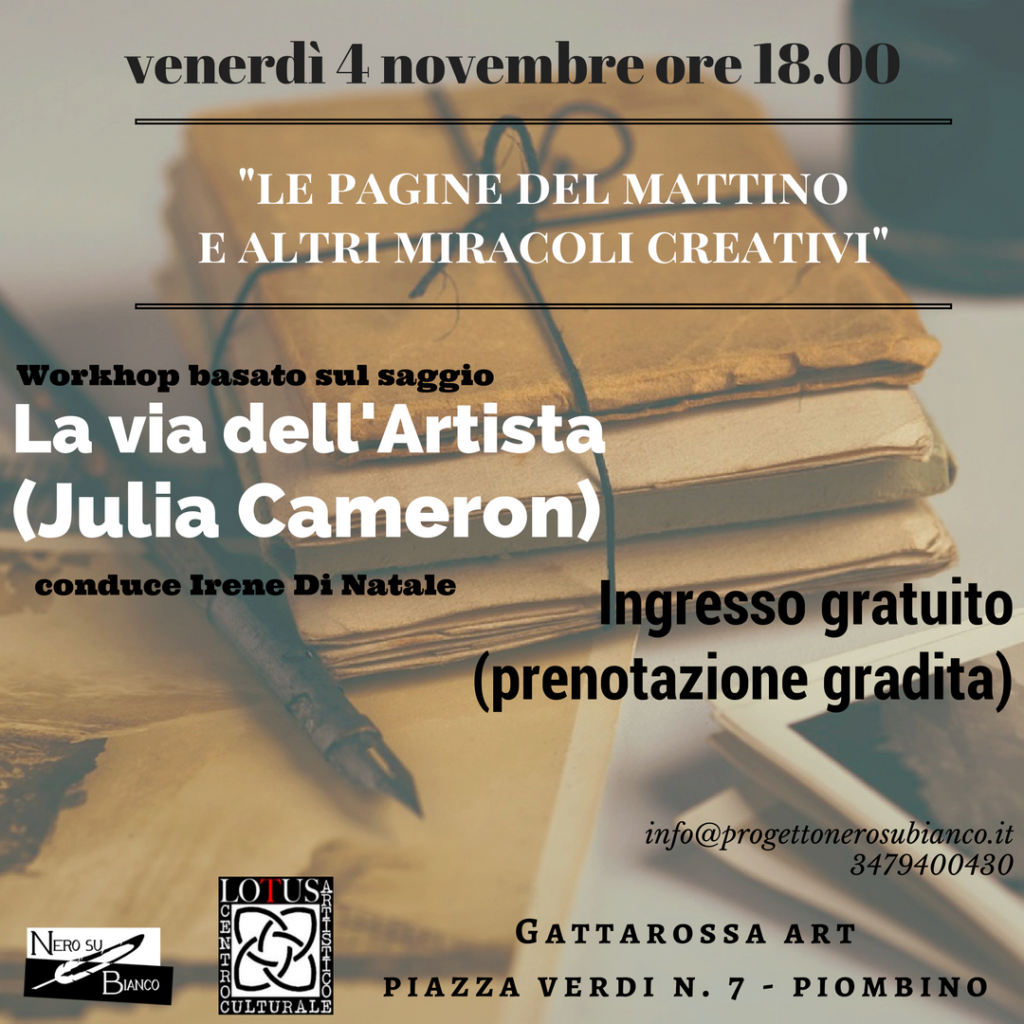 workshop 4 novembre piombino