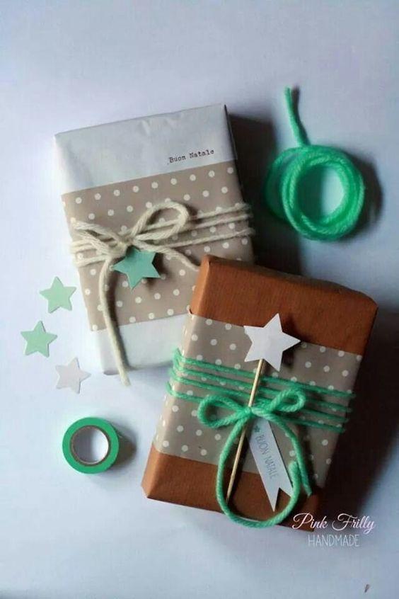 idee per incartare un libro a Natale