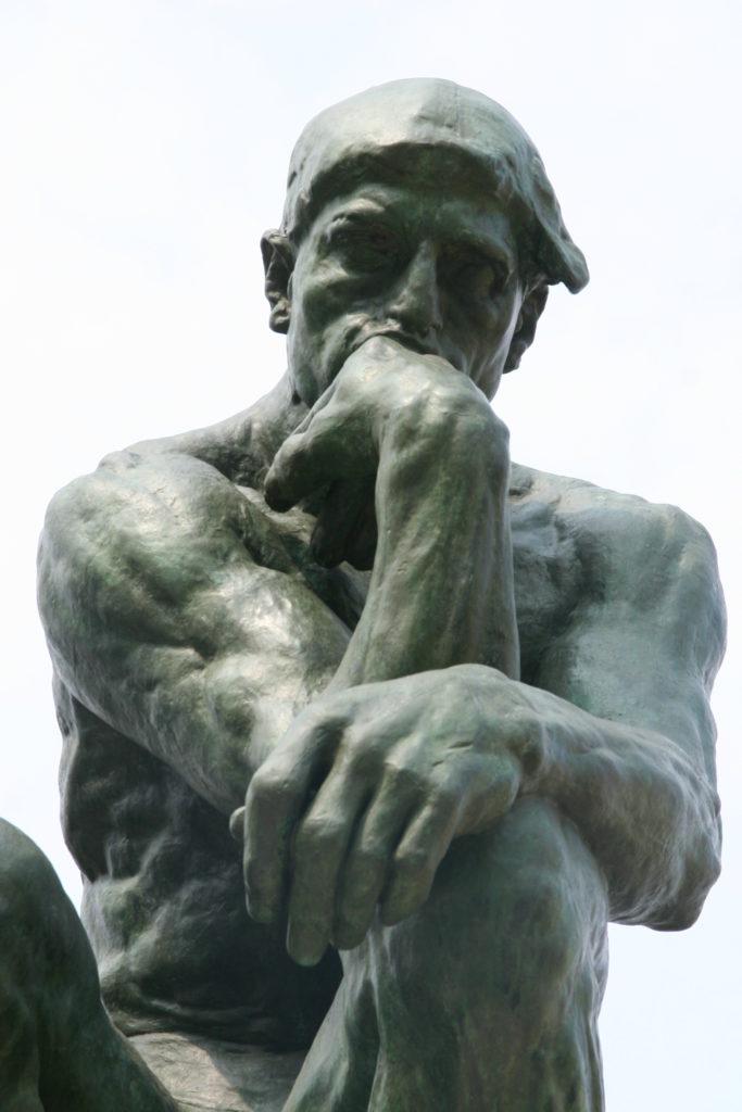 Le Penseur - Auguste Rodin